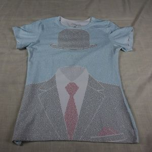 Lithographs Invisible Man T Shirt Size Small